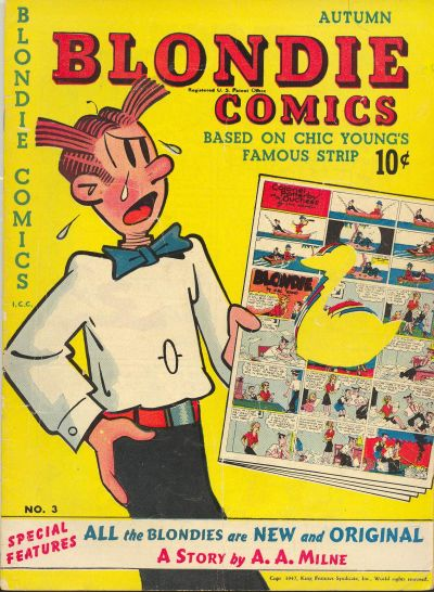 Blondie Comics Vol 1 3