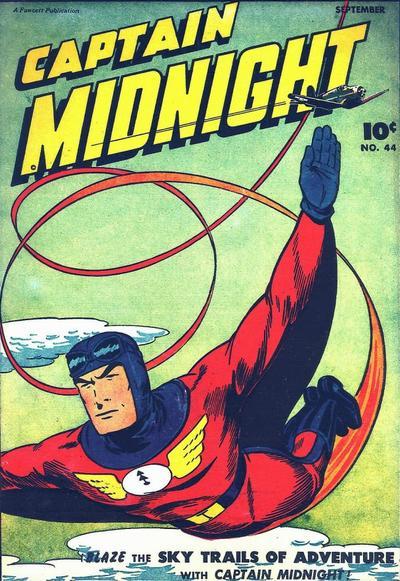 Captain Midnight Vol 1 44