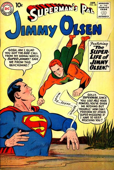 Superman's Pal, Jimmy Olsen Vol 1 50