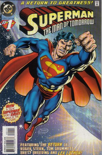 Superman: Man of Tomorrow Vol 1 1