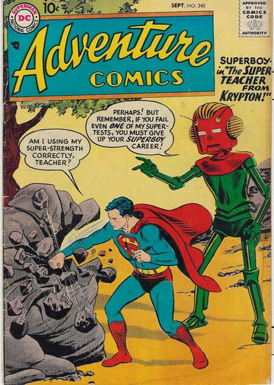 Adventure Comics Vol 1 240