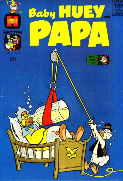 Baby Huey and Papa Vol 1 6