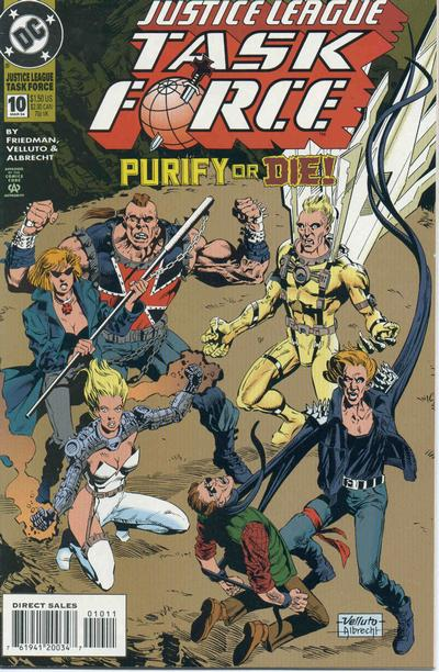Justice League Task Force Vol 1 10