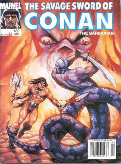 Savage Sword of Conan Vol 1 180