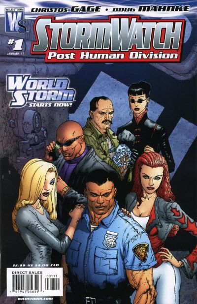 Stormwatch: Post Human Division Vol 1 1