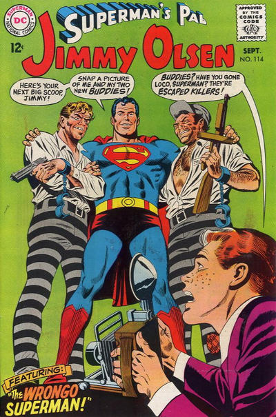 Superman's Pal, Jimmy Olsen Vol 1 114