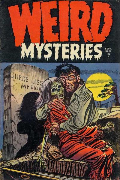 Weird Mysteries Vol 1 12