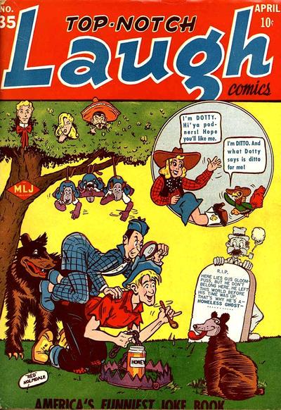 Top-Notch Laugh Comics Vol 1 35