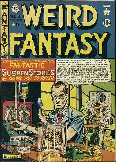 Weird Fantasy (1950) Vol 1