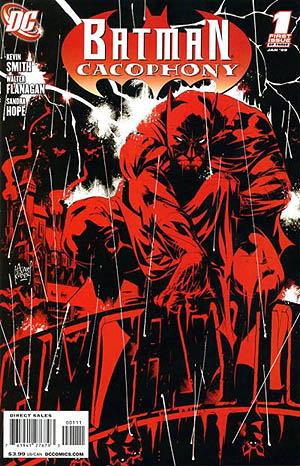 Batman: Cacophony/Covers