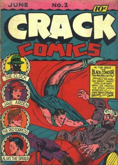 Crack Comics Vol 1 2