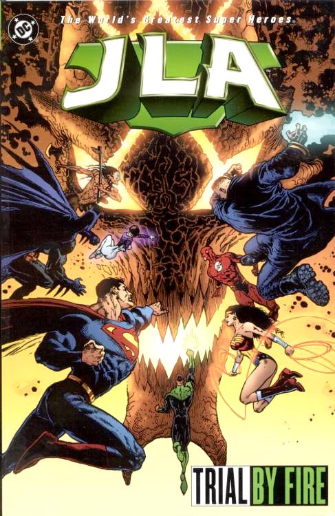 JLA: Trial by Fire (Collected)