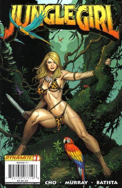 Jungle Girl Vol 1 1