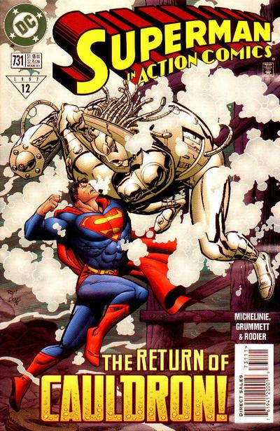 Action Comics Vol 1 731