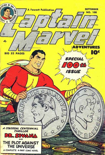 Captain Marvel Adventures Vol 1 100