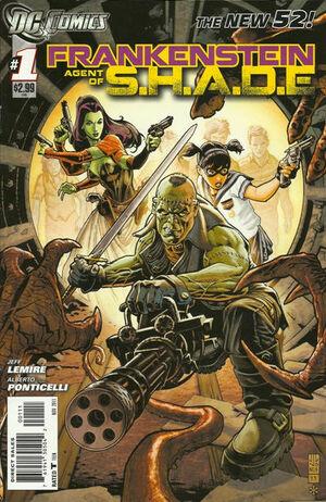 Frankenstein, Agent of S.H.A.D.E. Vol 1 1.jpg