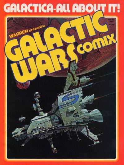 Galactic Wars Comix Vol 1