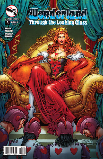 Grimm Fairy Tales Presents Wonderland: Through the Looking Glass Vol 1 3