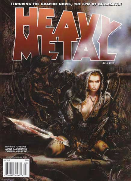 Heavy Metal Vol 34 4