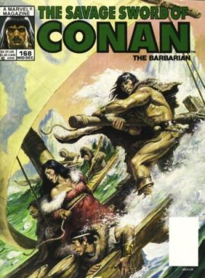 Savage Sword of Conan Vol 1 168
