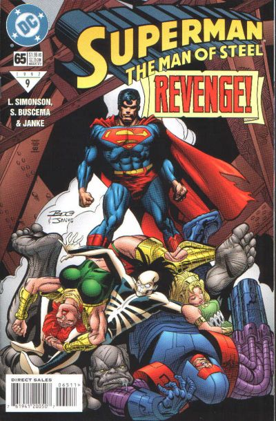 Superman: Man of Steel Vol 1 65