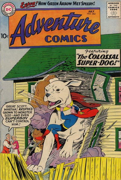 Adventure Comics Vol 1 262
