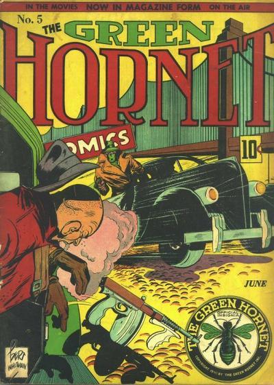Green Hornet Comics Vol 1 5