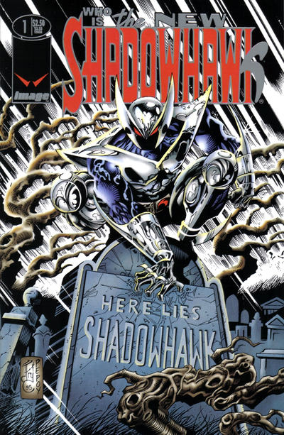 The New Shadowhawk Vol 1 1