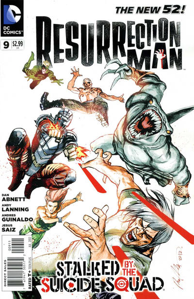 Resurrection Man Vol 2 9