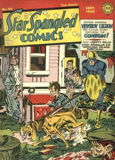 Star-Spangled Comics Vol 1 24