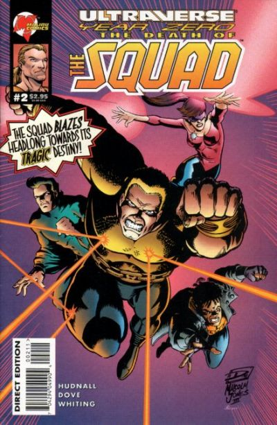 Ultraverse Year Zero: The Death of the Squad Vol 1 2