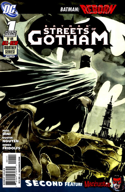 Batman: Streets of Gotham/Covers