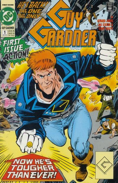 Guy Gardner/Covers