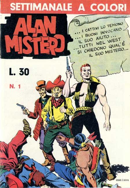 Alan Mistero Vol 1 1