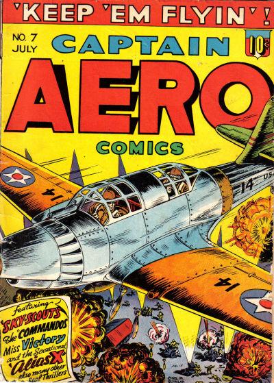 Captain Aero Comics Vol 1 7
