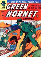 Green Hornet Comics Vol 1 14