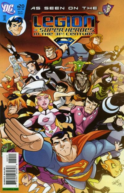 Legion of Super-Heroes in the 31st Century Vol 1 20