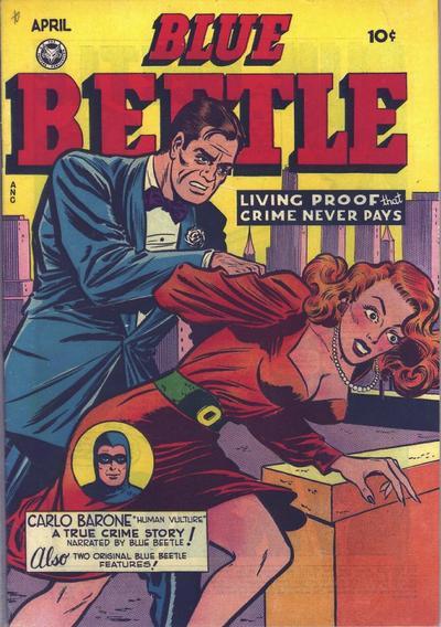 Blue Beetle (Fox) Vol 1 55