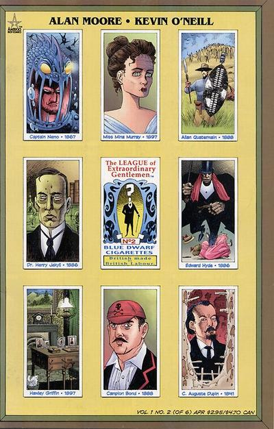 League of Extraordinary Gentlemen Vol 1 2