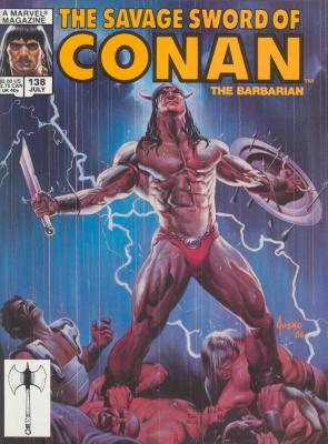 Savage Sword of Conan Vol 1 138