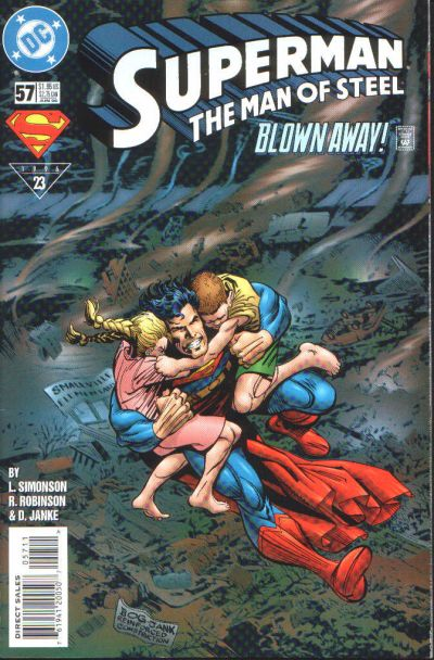 Superman: Man of Steel Vol 1 57