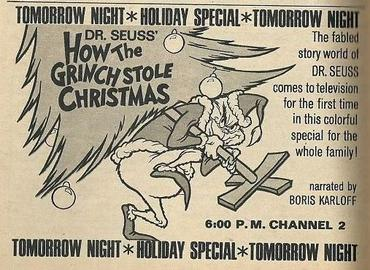 Dr. Seuss' How the Grinch Stole Christmas! (TV special)