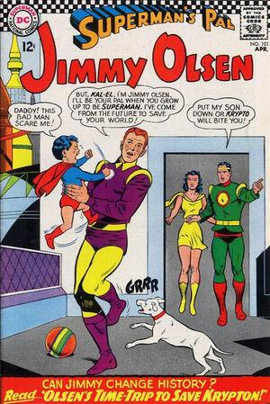 Superman's Pal, Jimmy Olsen Vol 1 101.jpg