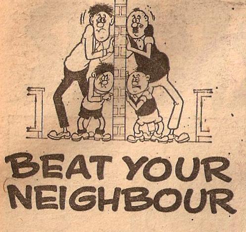 Beat Your Neighbour (comic strip)