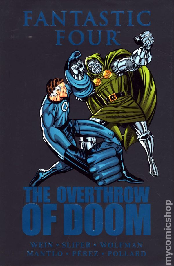 Fantastic Four: The Overthrow of Doom HC Vol 1 1