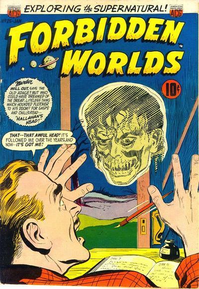 Forbidden Worlds Vol 1 25