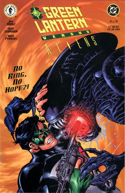 Green Lantern vs. Aliens Vol 1 3