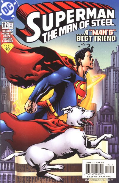 Superman: Man of Steel Vol 1 112