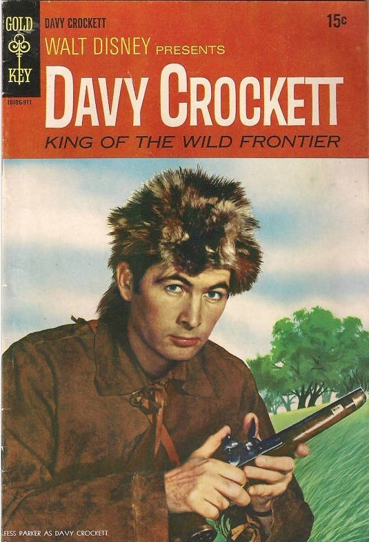 Davy Crockett King of the Wild Frontier Vol 1 2