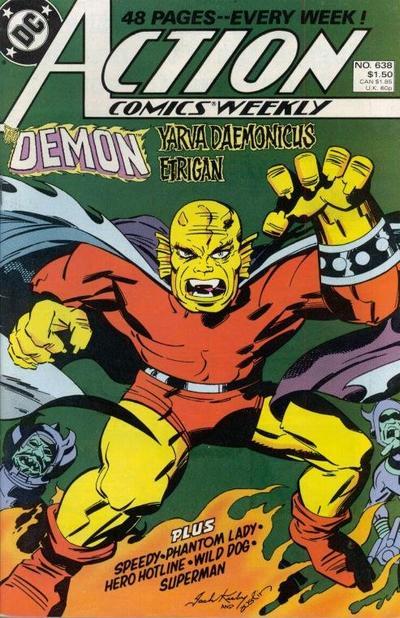 Action Comics Vol 1 638